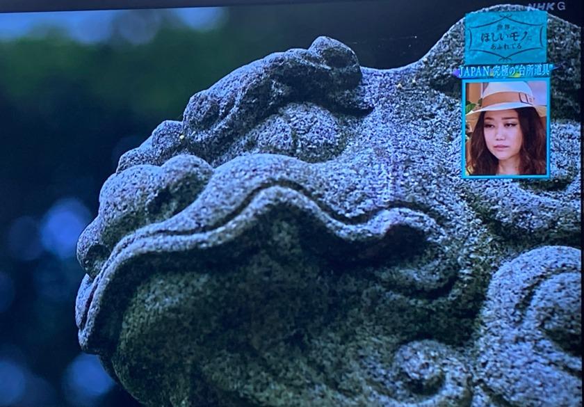 能登町八坂神社の狛犬